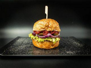Domaći burger Vegapčić dostava