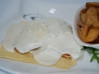 Piletina u sosu od 4 vrste sira Godo Splav Restoran dostava