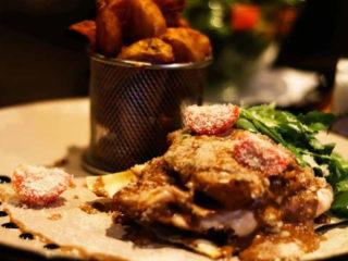Saltimbocca Bianca piletina Godo Splav Restoran dostava