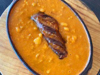 Čorbast pasulj sa suvim mesom Rush Restoran dostava
