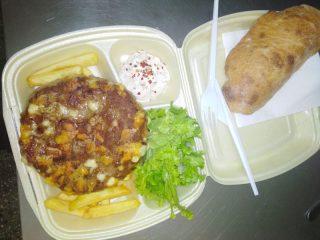 Gurmanska pljeskavica obrok Bokado dostava