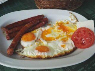 Eggs with sausage Stara Promenada delivery