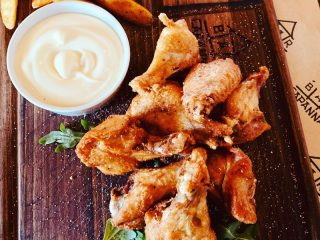 Wings and drumsticks Capanna Bar delivery
