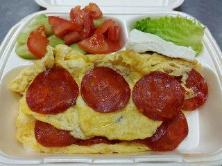 Omlet sa kulenom Amos picerija dostava