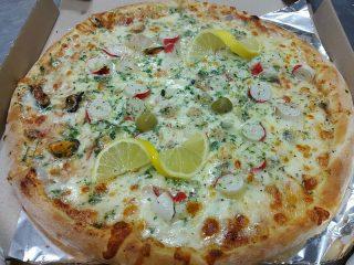 Pizza Frutti di mare Amos picerija dostava