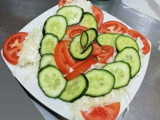 Seasonal mixed salad Stara Promenada delivery
