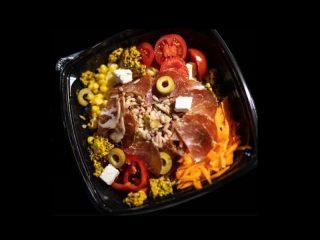 Suvi vrat salata Greni Juice Bar dostava