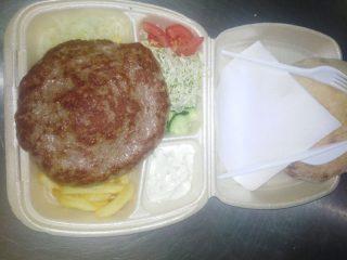 Velika pljeskavica obrok Bokado dostava