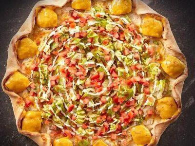 Cheeseburger pizza Imperia Picerija dostava