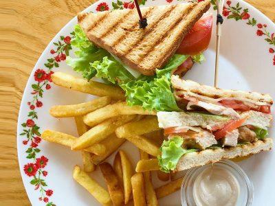 Klub sendvič Tabasco Splav dostava