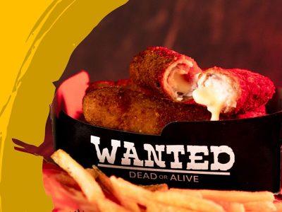 Edamer rolls - 3 komada Wanted Burger dostava