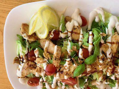 Pileća obrok salata Tabasco Splav dostava