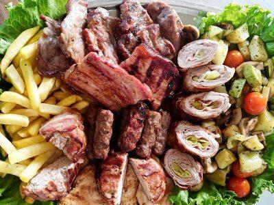 Svinjsko mešano meso za dve osobe Tabasco Splav dostava