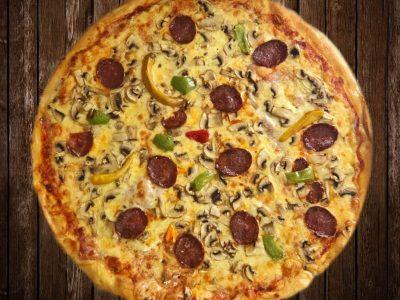 Čardaš pica Pizza Gonzales dostava