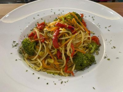 Pasta with vegetables Dolce delivery