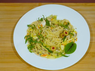 White pasta Vege House delivery