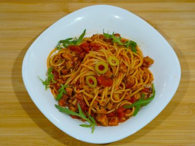 Bolognese pasta Vege House delivery