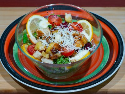 Caesar veggie salad Vege House delivery
