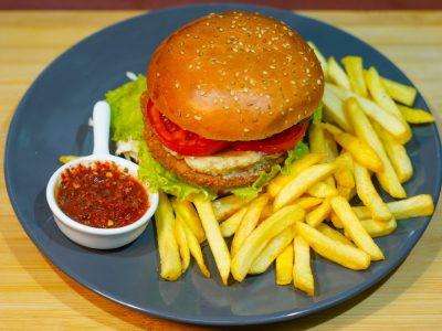 Falafel burger Vege House delivery