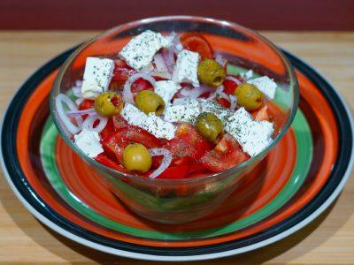 Greek salad Vege House delivery