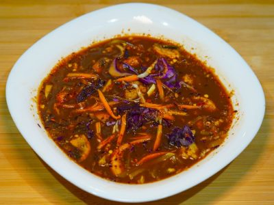 Chinese hot  and  sour soup Vege House delivery