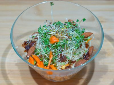 Quinoa sweet and chilli salad Vege House delivery