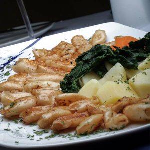 Grilled squids Golub picerija delivery