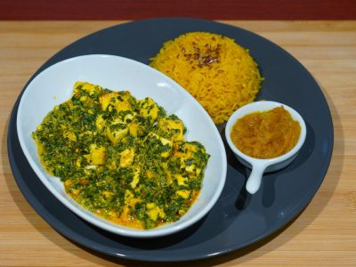 Palak Paneer curry Vege House delivery