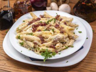 Pasta Carbonara 4+1 gratis Enigma restoran dostava