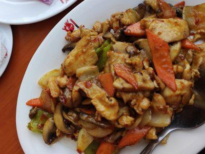 30. Piletina u kari sosu New Hong Kong dostava