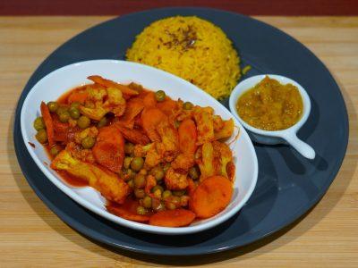 Radjastani curry Vege House delivery