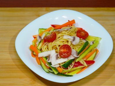 Raw vegetable pasta Vege House delivery