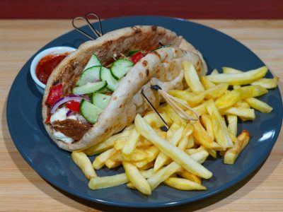 Serbian gyros Vege House delivery