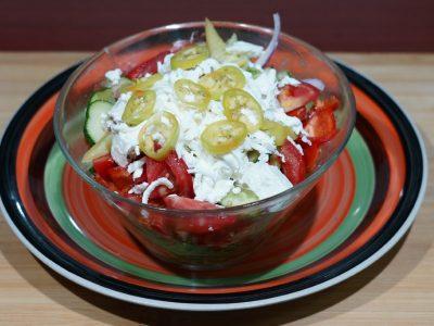 Shopska salad Vege House delivery