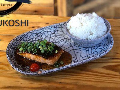 Teriyaki losos Marukoshi dostava