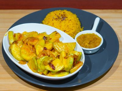 Zucchini curry Vege House delivery