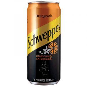 Schweppes - Orangeade Hood delivery