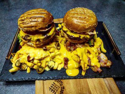 Cheese and Cheese burger Waffle magacin dostava