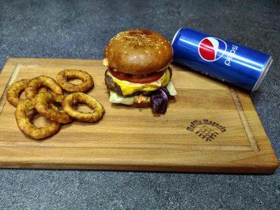 Mini Cooper burger Waffle magacin dostava