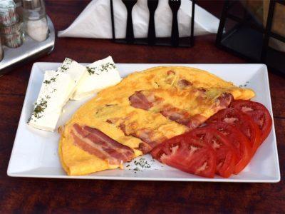 Omlet sa slaninicom Ružo Rumena dostava